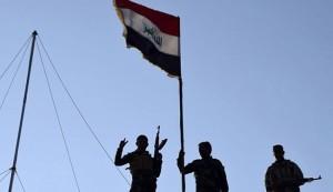 تحرير مركز شرطة السلام ورفع العلم جنوبي الفلوجة