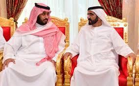 moh bin salman dan pangeran abu dhabi moh bin zayed alnahyan