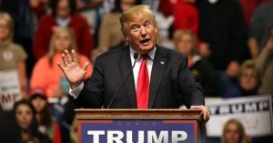 AS donald trump