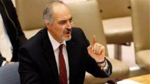 Bashar Ja'fari, wakil Suriah di PBB (foto:presstv)