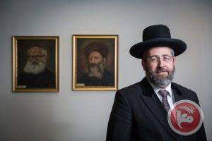 Rabbi David Lau (foto:maannews)