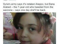 Bana Alabed dan Industri Hoax Perang Suriah