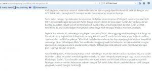 tulisan Ahyudin: ACT bekerja sama dengan IHH