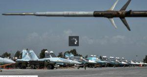 Pesawat SU-34 Rusia di Hmeimim