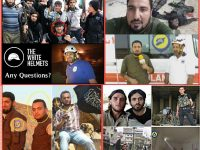 Foto-foto yang menunjukkan bahwa anggota WH adalah milisi Al Qaida