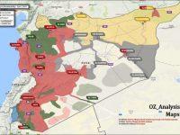 Ini Peta Terbaru Atas Konflik di Suriah