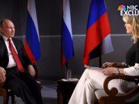 Putin Bungkam Presenter Televisi Amerika
