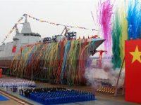 Cina Resmikan Kapal Perang Terkuat