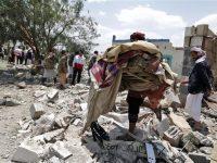 Militer Saudi Bantai Warga Sipil Yaman, 14 Orang Meninggal.