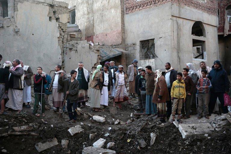 Blokade Arab Saudi Sebabkan Warga Yaman Kelaparan