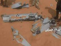 Militer Yaman Berhasil Tumbangkan Drone Pengintai Arab Saudi