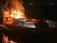 Sebuah Perahu di Pelabuhan Gaza Hancur Akibat Serangan Israel