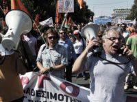 Pemogokan Massal Lumpuhkan Yunani