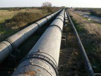 Potret jalur pipa gas