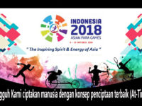Asian Para Games, Momen Memuliakan Manusia