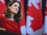 Menlu Kanada: Kami Sambut Sanksi AS Terhadap Saudi dan Akan Lakukan Aksi Serupa