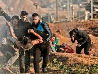 Unjuk Rasa di Gaza, 75 Warga Palestina Terluka Diserang Israel