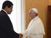 Maduro Minta Paus Fransiskus Memediasi Penyelesaian Krisis Venezuela