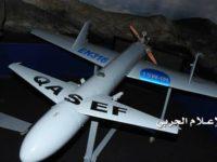 Pasukan Yaman Gempur Lanud King Khalid, Saudi, dengan Drone Qasef K2
