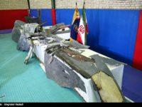 Iran Tontonkan Sisa Puing Pesawat Nirawak AS