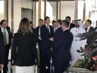 "Jared Kushner, menantu dan penasihat senior, Presiden AS Donald Trump, di sela-sela ""Lokakarya Damai untuk Kemakmuran"" yang berlangsung di Manama, Bahrain, Selasa (25/6/2019)."