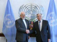 PBB Sesalkan Pembatasan AS Terhadap Menlu Iran di New York