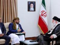 Wakil Ansharullah Yaman Sandang Belati Saat Temui Pemimpin Iran, Apa Maknanya?
