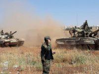 Tentara Suriah Kuasai Jalur Internasional Damaskus-Aleppo