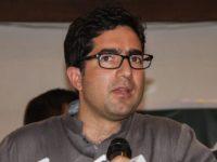 Tokoh di Kashmir, Shah Faisal,  Tertangkap di Bandara Delhi