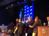 Video: Sirine Berbunyi di Israel, Netanyahu Hentikan Pidato dan Kabur