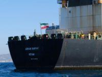 """Tanker Minyak Iran """"Adrian Darya 1"""" Turunkan Muatannya di Pelabuhan Suriah"""