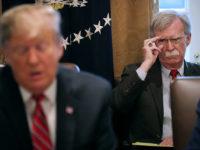 John Bolton, Tumbal Trump Demi Iran?