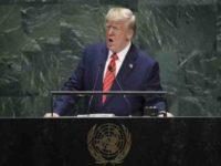 Trump di PBB Kecam Iran Terkait Insiden Aramco