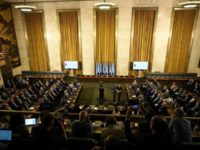 Pertemuan komisi konstitusional Suriah di Jenewa. Sumber: Anadolu
