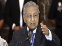 Tanggapi Hadiah AS untuk Israel, Mahathir: Kini Malaysia Tidak Aman