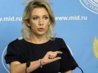 Zakharova: Sekjen PBB Hanya Bungkam terhadap Pelanggaran AS