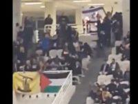 Tonton Pertandingan Basket Israel, Suporter Yunani Justru Kibarkan Bendera Palestina dan Hizbullah