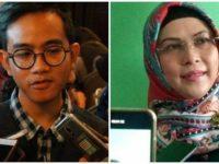 Potret Anak Joko Widodo, Gibran Rakabuming Raka (kiri) dan Putri Ma'ruf Amin, Nur Azizah. Sumber: Tribun