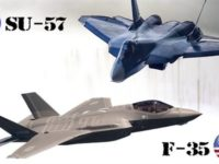 Jet Tempur Su-35 Rusia Cegat Jet Tempur Israel di Suriah