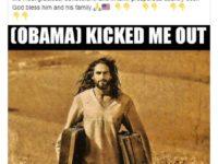 """Trump Me-retweet Meme Dia Mengembalikan """"Yesus"""" Yang Didepak oleh Obama"""