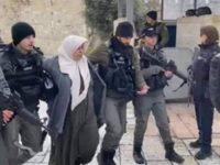 Dituduh Menyerang Tentara Israel, Wanita Setengah Baya Palestina Ditangkap