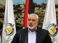 Kepala Biro Politik Hamas, Ismail Haniyeh. Sumber: Al-Alam