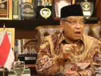 Ketua Umum Pengurus Besar Nahdhatul Ulama (PBNU), Kiai Said Aqil Siraj. Sumber: Moeslim Choice