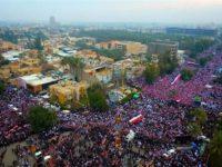 Baghdad Dilanda Unjuk Rasa Akbar Anti-AS, Para Ulama Turut Bersuara