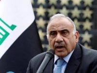 Perdana Menteri Irak, Adel Abdul-Mahdi. Sumber: Al-Jazeera