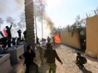 Kedubes AS di Baghdad Dihantam Roket, Beberapa Orang Terluka