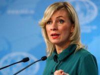 Zakharova: Dukungan Turki terhadap Teroris di Idlib Melanggar Kesepakatan Moskow-Ankara