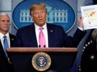 Trump Remehkan Penyebaran Corona di AS