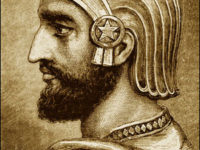 potret lukisan Cyrus the Great