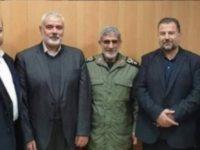 Pemimpin Hamas Bahas Perjanjian Abad Ini dengan Komandan Pasukan Quds IRGC